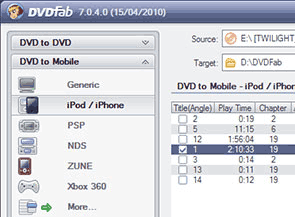 DVDFab DVD Ripper Screenshots