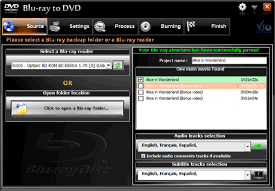 VSO Blu-ray to DVD Converter Screenshots